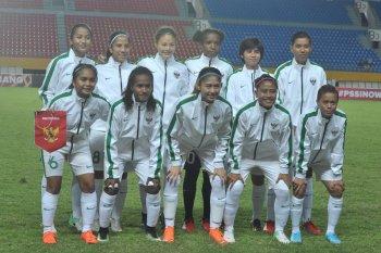 Tim sepak bola putri indonesia taklukan Maladewa 6-0