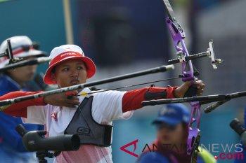 Panahan-Kualifikasi Recurve Individual Putri Indonesia