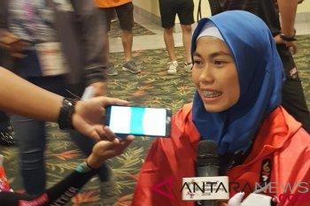 Warganet rayakan emas pertama Indonesia