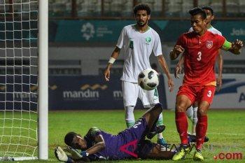 Arab Saudi unggul sementara 1-0 atas Myanmar