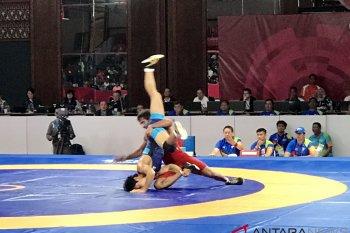 India raih emas gulat putra kelas 65 kg