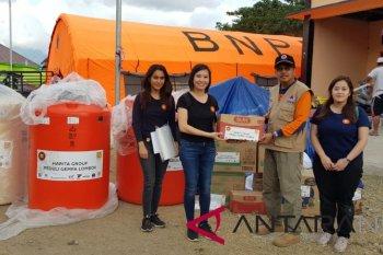 Harita Group sumbang Rp300 juta untuk korban gempa Lombok
