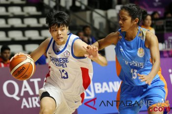 Basket Putri - Chinese Taipei vs India