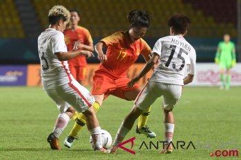 Timnas putri China libas Hong Kong 7-0