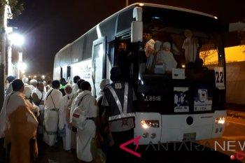 Laporan dari Mekkah - Jamaah mulai bergerak ke Muzdalifah