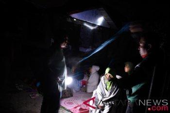 Lapangan di Mataram penuh pengungsi pascagempa Lombok