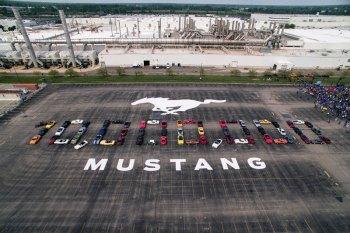 Ford produksi Mustang ke-10 juta, suguhkan 460 tenaga kuda