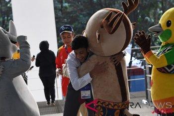 Persiapan Upacara Pembukaan Asian Games