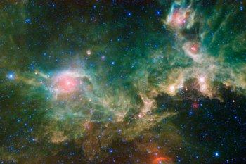 """Galaksi Cosmic Seagull diduga dipenuhi """"materi hitam"""""""