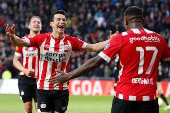 Hasil dan klasemen Liga Belanda, PSV tak tergoyahkan di puncak