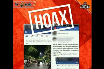 "Narasi Anti-Hoax - Jakmania Bantah Isu ""sweeping"" Mobil Berplat Nomor D"