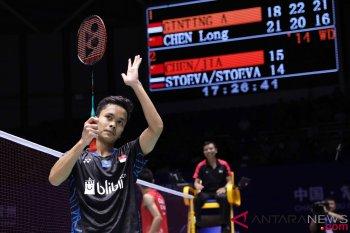 Anthony Ginting Melaju Semifinal China Open 2018