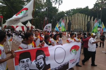 Relawan Bekerjo menggalang dukungan untuk Jokowi-Ma'ruf