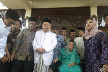 Ma'ruf Amin harapkan dukungan keluarga Gus Dur