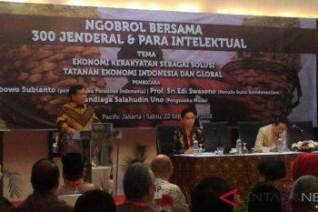 Prabowo ngobrol bersama 300 jenderal dan intelektual
