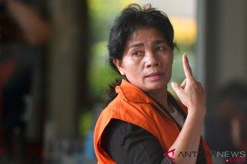 Penahanan tersangka suap hakim PN Medan diperpanjang