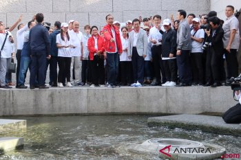 Wali Kota Seoul terkesan dengan gaya Presiden Jokowi