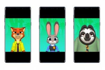 Samsung ubah karakter Zootopia jadi AR emoji