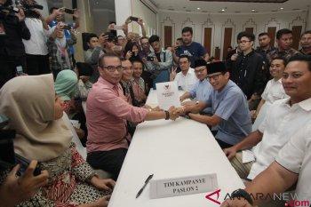 Round Up - Perbandingan dana kampanye awal Jokowi-Ma'ruf dengan Prabowo-Sandiaga