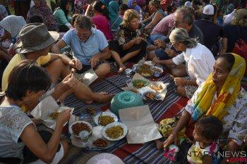 Penggalangan Bantuan Untuk Korban Gempa Lombok