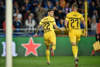 Cetak gol di hari ulang tahun, Pulisic bawa Dortmund menang
