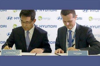 Hyundai pasok 1.000 truk hidrogen untuk perusahaan Swiss