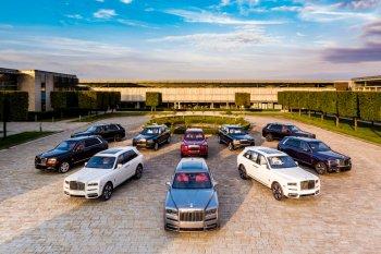 Rolls Royce Cullinan akan dipamerkan di Jackson Hole