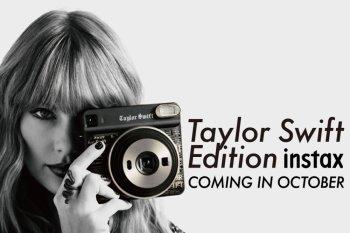 Fujifilm hadirkan pre-order online instax SQUARE SQ6 rancangan Taylor Swift