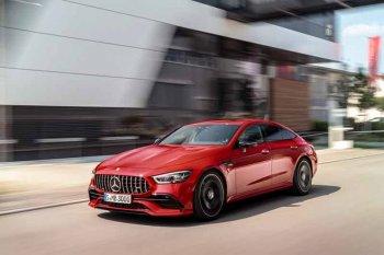 Mercedes-Benz mulai pasarkan sedan coupe AMG GT terbaru