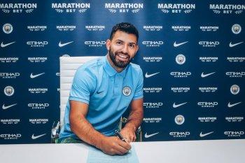 Aguero perpanjang kontrak di City sampai 2021