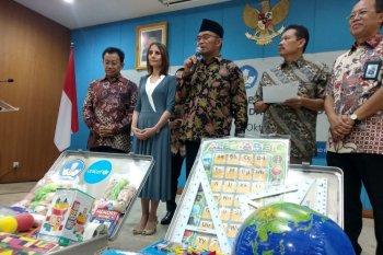UNICEF bantu tenda untuk kelas darurat di Sulawesi Tengah