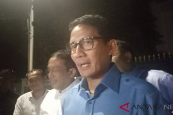 Sandiaga mengucapkan selamat ulang tahun kepada Prabowo