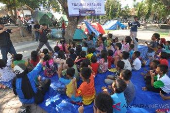 Kemensos percepat pemulihan anak terdampak gempa NTB