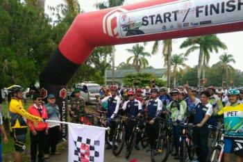 Ratusan peserta ramaikan Sepeda Nusantara Bontang