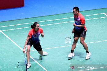 Hafiz/Gloria melaju ke babak dua French Open