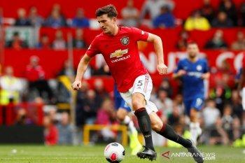 Liga Inggris - Harry  Maguire cemerlang, Solskjaer siap beri ban kapten MU