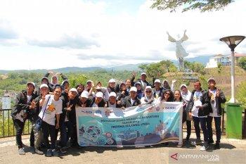 Peserta SMN-2019 Jawa Tengah Kunjungi Wisata Alam-Budaya Sulut