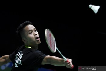 Ginting kandaskan Jojo di semifinal Hong Kong Open