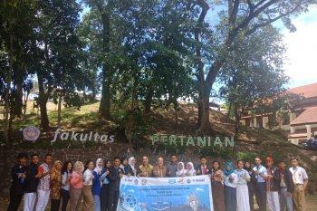 Peserta SMN Berkunjung ke Unsrat Manado