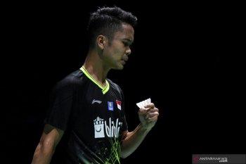 Anthony lolos ke semifinal BWF Tour Finals 2019 setelah catat kemenangan kedua