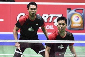 BWF Finals, Hendra/Ahsan lolos ke semi final usai dikalahkan Lee/Wang