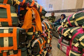 Separuh jemaah haji Indonesia telah meninggalkan Mekkah