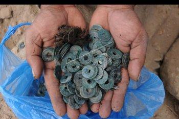 Temuan uang kuno di Klaten