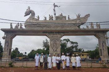Masyarakat Bali pun napak tilas leluhur di Odisha-India