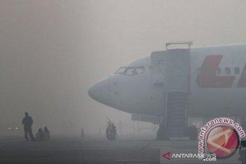 Akibat asap, penerbangan di Palangka Raya hampir lumpuh