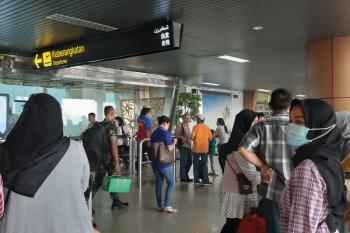 Sebanyak 37 penerbangan batal di Bandara Supadio Pontianak akibat kabut asap