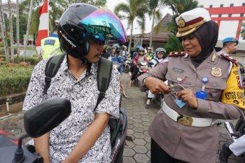 Polresta Pontianak keluarkan 300 tilang sepanjang Operasi Patuh Kapuas 2019