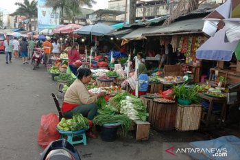 Harga berbagai jenis sayuran lokal di Ambon normal