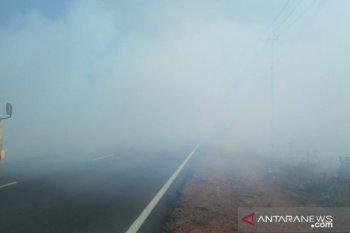 Sebaran asap terdeteksi hingga ke Malaysia dan Singapura