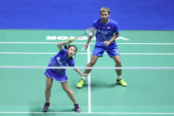 Rinov/Pitha melaju ke babak dua French Open 2019
